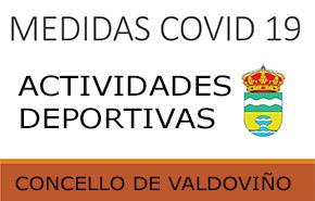 Medidas fronte á COVID-19 nas actividades deportivas