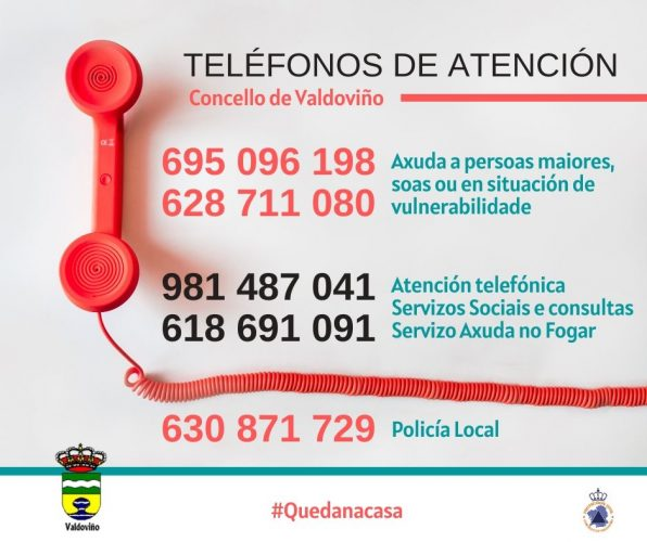 TELEFONOS ATENCIÓN VALDOVIÑO